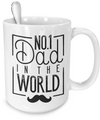 No 1 Dad In The World - 15oz Mug - Unique Gifts Store