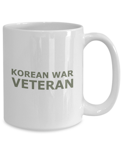 Korean War Veteran - 15oz Mug
