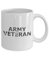 Army Veteran - 11oz Mug - Unique Gifts Store
