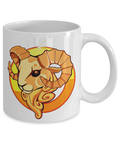 Zodiac Sign Aries - 11oz Mug