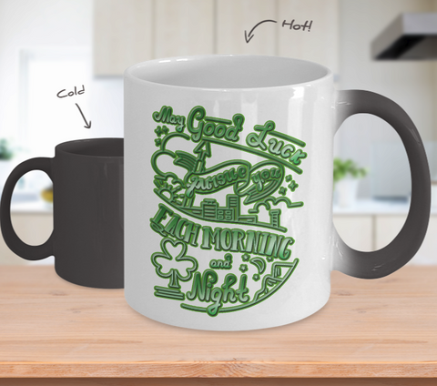 Good Luck Blessing - Color Changing Mug - Unique Gifts Store
