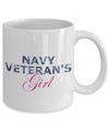 Navy Veteran's Girl - 11oz Mug - Unique Gifts Store