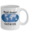 World's Greatest Cashier - 11oz Mug - Unique Gifts Store