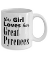 Great Pyrenees - 11oz Mug - Unique Gifts Store