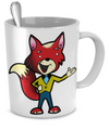 Fox - 11oz Mug - Unique Gifts Store