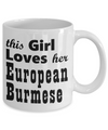 European Burmese - 11oz Mug - Unique Gifts Store