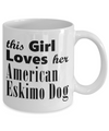 American Eskimo Dog - 11oz Mug - Unique Gifts Store