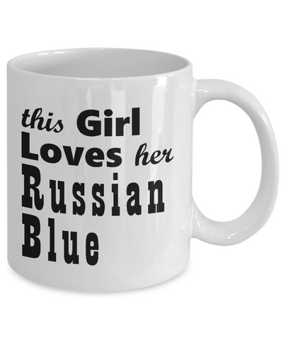 Russian Blue - 11oz Mug