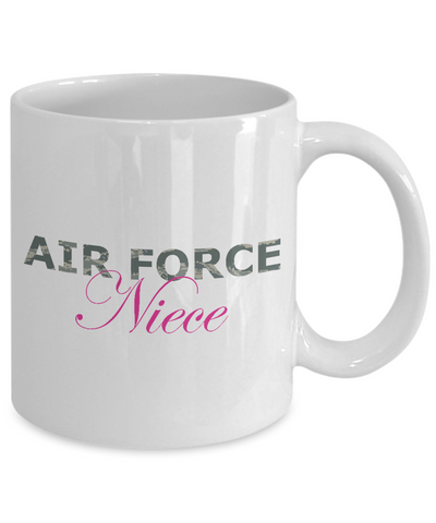 Air Force Niece - 11oz Mug - Unique Gifts Store