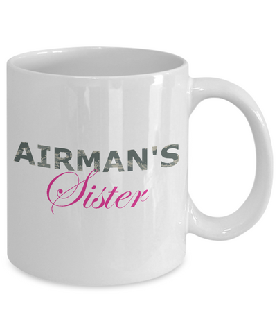 Airman's Sister - 11oz Mug - Unique Gifts Store