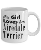 Airedale Terrier - 11oz Mug - Unique Gifts Store