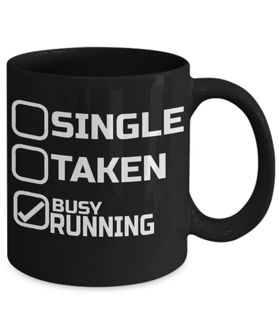 Busy Running - 11oz Mug - Unique Gifts Store