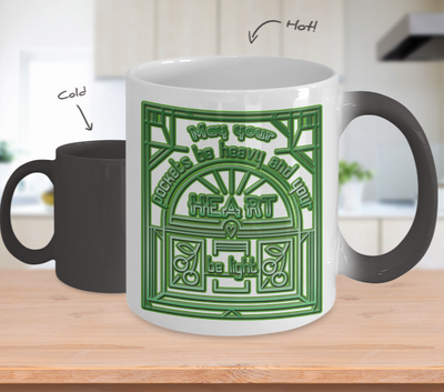 Irish Blessing - Color Changing Mug - Unique Gifts Store