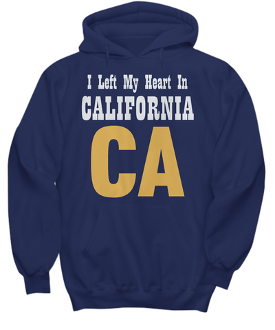 Heart In California - Hoodie