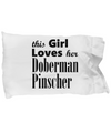 Doberman Pinscher - Pillow Case - Unique Gifts Store
