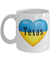 Ukrainian In Texas - 11oz Mug - Unique Gifts Store