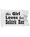 Selkirk Rex - Pillow Case