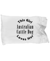 Australian Cattle Dog v2c - Pillow Case