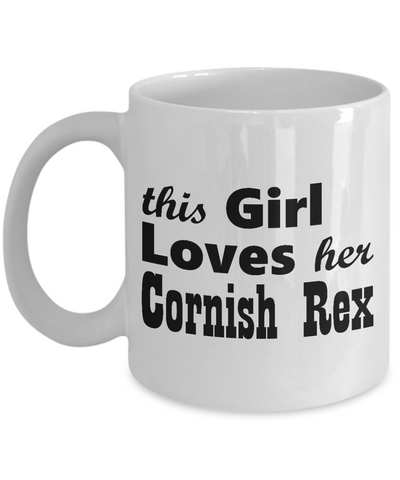 Cornish Rex - 11oz Mug - Unique Gifts Store