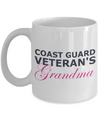 Coast Guard Veteran's Grandma - 11oz Mug - Unique Gifts Store
