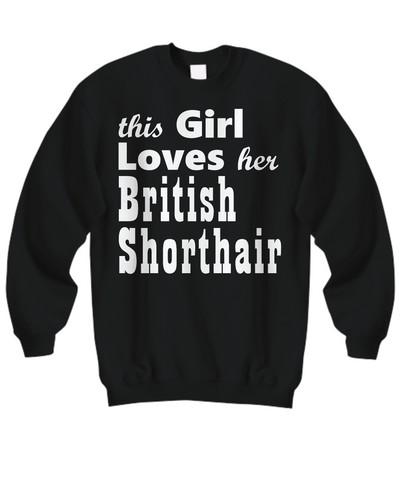 British Shorthair - Sweatshirt - Unique Gifts Store