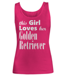 Golden Retriever - Tank Top - Unique Gifts Store