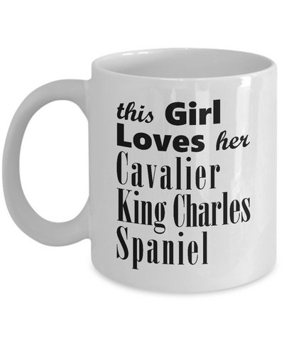 Cavalier King Charles Spaniel - 11oz Mug - Unique Gifts Store
