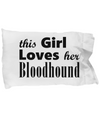 Bloodhound - Pillow Case - Unique Gifts Store