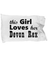 Devon Rex - Pillow Case - Unique Gifts Store