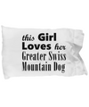 Greater Swiss Mountain Dog - Pillow Case - Unique Gifts Store
