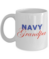 Navy Grandpa - 11oz Mug - Unique Gifts Store