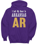 Heart In Arkansas - Hoodie - Unique Gifts Store