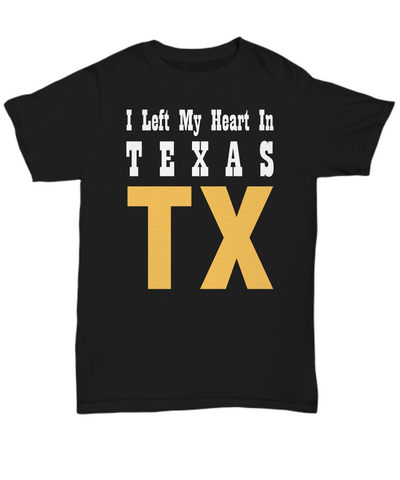 Heart In Texas - T-Shirt