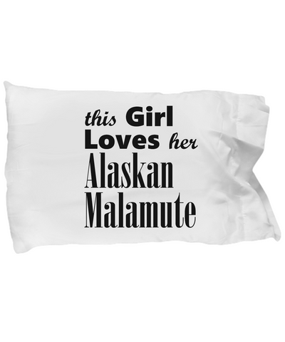 Alaskan Malamute - Pillow Case - Unique Gifts Store