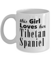 Tibetan Spaniel - 11oz Mug - Unique Gifts Store