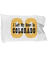Heart In Colorado - Pillow Case - Unique Gifts Store