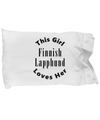 Finnish Lapphund v2c - Pillow Case