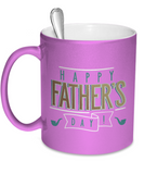 Happy Father's Day - 11oz Metallic Mug - Unique Gifts Store