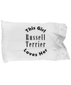 Russell Terrier v2c - Pillow Case