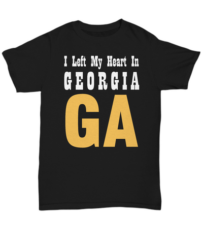 Heart In Georgia - T-Shirt