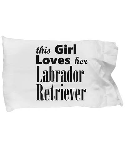 Labrador Retriever - Pillow Case - Unique Gifts Store