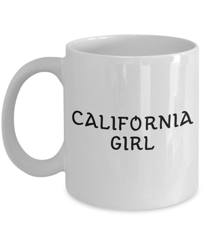 California Girl - 11oz Mug - Unique Gifts Store