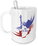 4th of July - 15oz Mug - Unique Gifts Store
