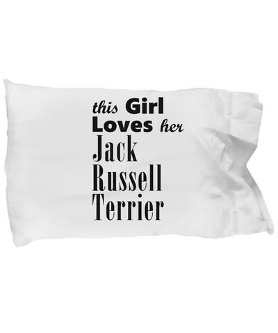 Jack Russell Terrier - Pillow Case - Unique Gifts Store