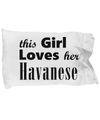 Havanese - Pillow Case - Unique Gifts Store