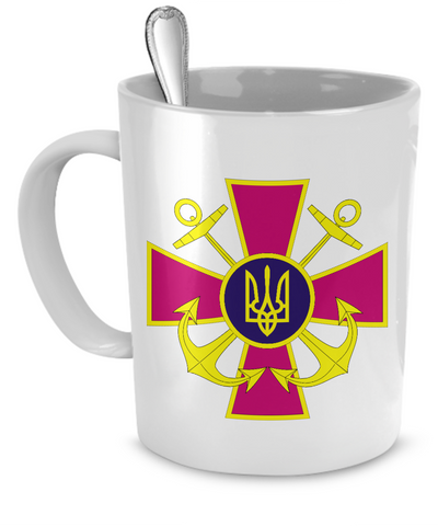 Ukrainian Naval Forces - Mug - Unique Gifts Store