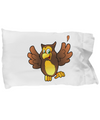 Happy Owl - Pillow Case