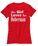 Doberman - Women's Tee - Unique Gifts Store