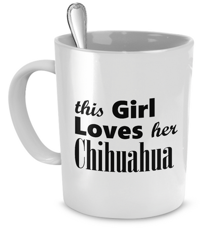 Chihuahua - 11oz Mug - Unique Gifts Store