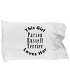Parson Russell Terrier v2c - Pillow Case